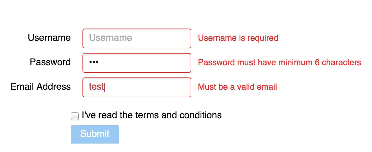 Introduction To Angularjs Form Validation