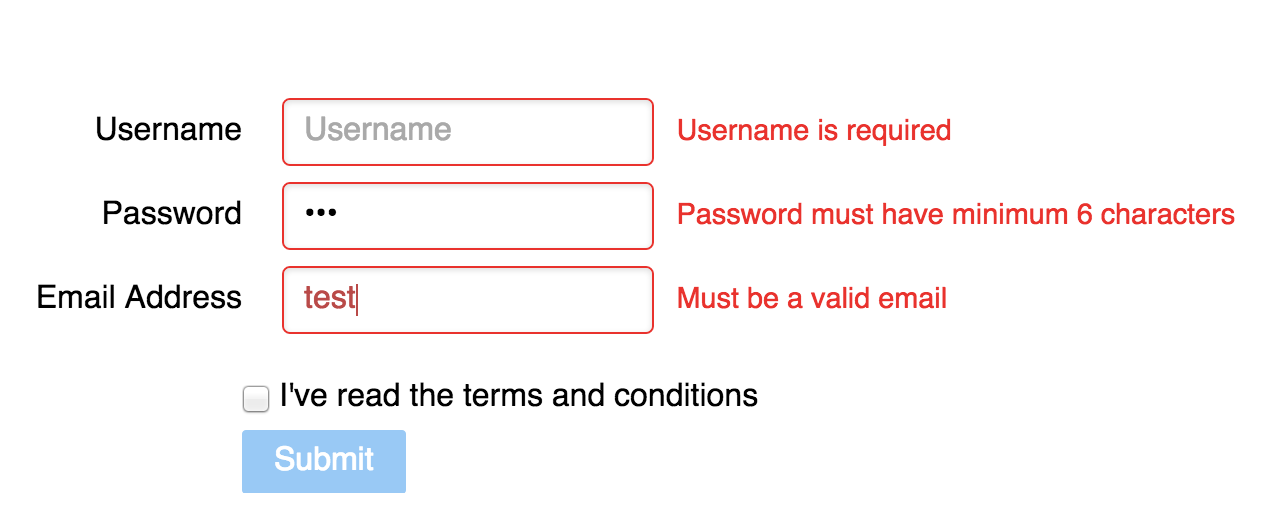 Introduction to AngularJs Form Validation